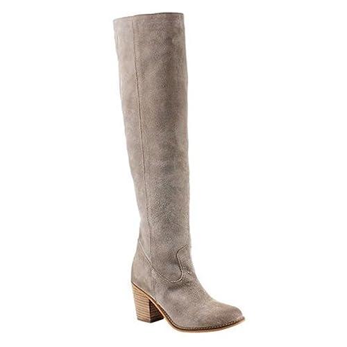 10f4ed61d1c Amazon.com   Diba True Leg Up Over The Knee Suede Boot   Boots