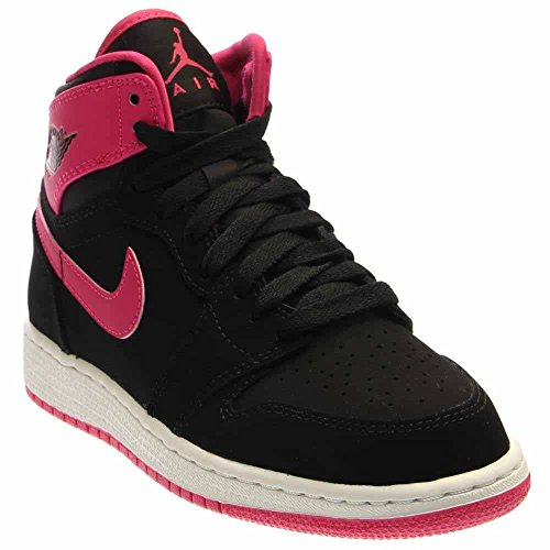 MUK LUKS 0016754650-INF1 Slipper Slide, Pink Houndstooth, 0-6 Months M US Infant (Slides Kids Basketball Jordan)