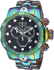 Invicta Mens Reserve Quartz Stainless Steel Casual WatchMulti Color (Model: 19764)