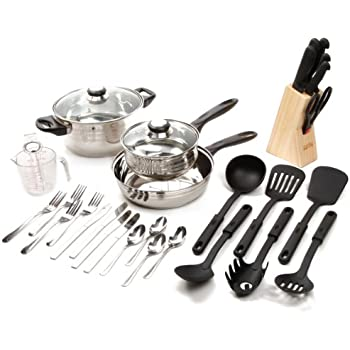 Amazon.com: Gibson Home 91923.59 Total Kitchen 59-Piece Combo Set ...