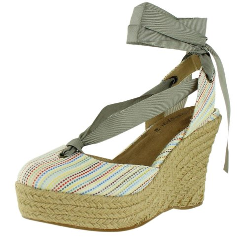 BEARPAW Womens Ginger Sandal White K5E4c6Cc