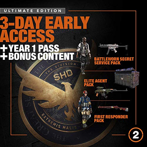 Tom Clancy's The Division 2 Ultimate Edition - XB1 [Digital Code] by Ubisoft (Image #1)