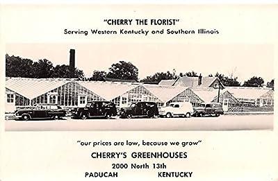 Cherry the Florist Paducah, Kentucky postcard