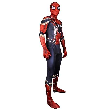 BLL Avengers 3 Iron Spider-Man Cosplay, Traje de Lycra con ...