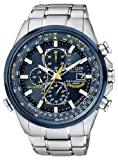 Citizen Men's AT8020-54L Blue Angels Stainless Steel Eco-Drive Dress Watch