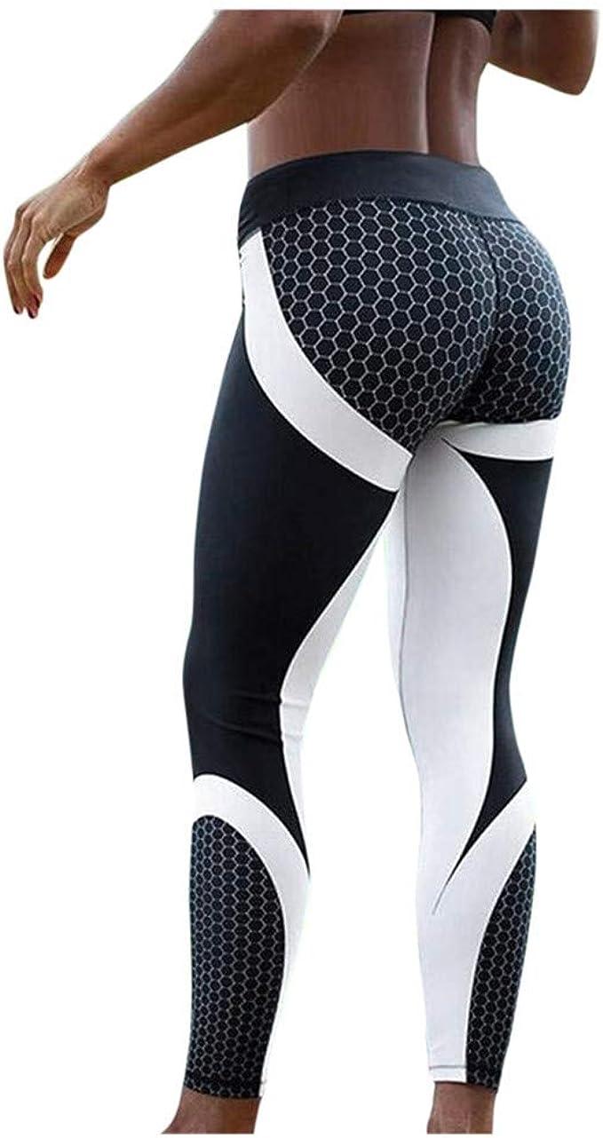 COPPEN Women Leggings High-Waisted Skinny Sport Push Up Yoga Pants