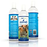 Natural Dog-Shampoo & Conditioner. Anti-Bacterial-Anti-Fungal-Anti-Itch-Anti-Allergy, Veterinary Grade Formula Wash For All Pets,Helps Hot Spots. Aloe Vera,Coconut Oil,Citrus to Relieve Dry Itchy Skin