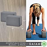 Gaiam Essentials Yoga Block (Set Of 2) - Supportive