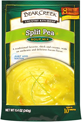 Bear Creek Soup Mix, Split Pea, 8.8 Ounce (Pack of 6)