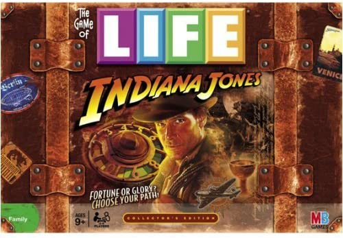 Game Of Life Indiana Jones by Hasbro (English Manual): Amazon.es: Juguetes y juegos
