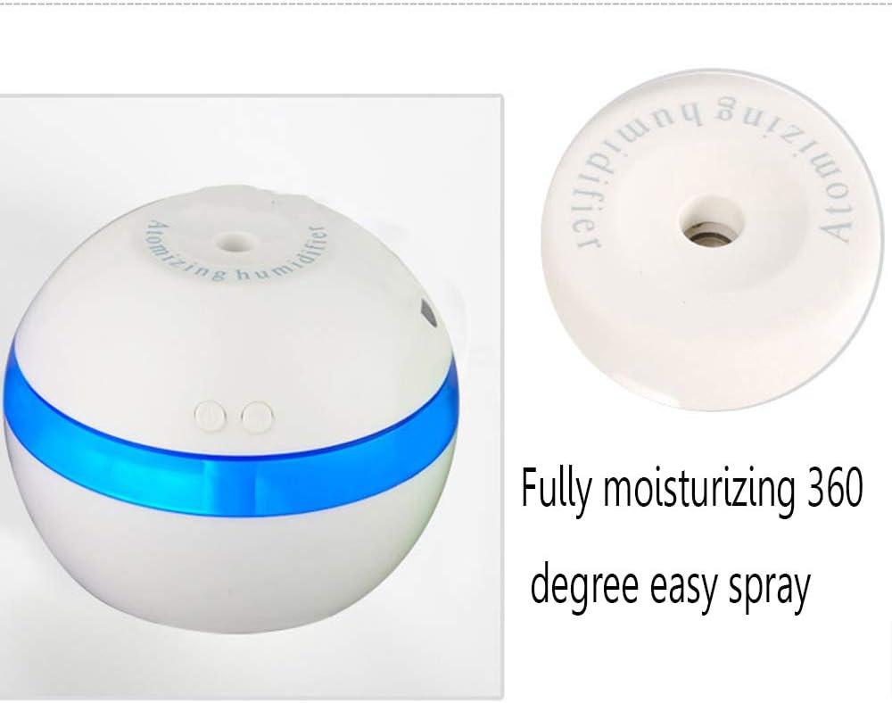 WANLN Mini Humidificador USB Humidificador Humidificador Ultras/ónico 3L con Luz Nocturna con Funci/ón De Rociado 6 Horas De Trabajo Dormitorio del Beb/é En Casa,Verde