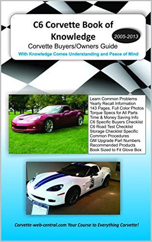 C6 Corvette Book of Knowledge: Corvette buyers guide