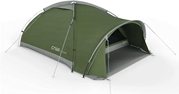 Crua Duo Cocoon Maxx Combo Tent Waterproof Hiking Camping Durable, Breathable Insulated Expedition Setup, 3 Person Tent with Aluminum Air Frame Combo