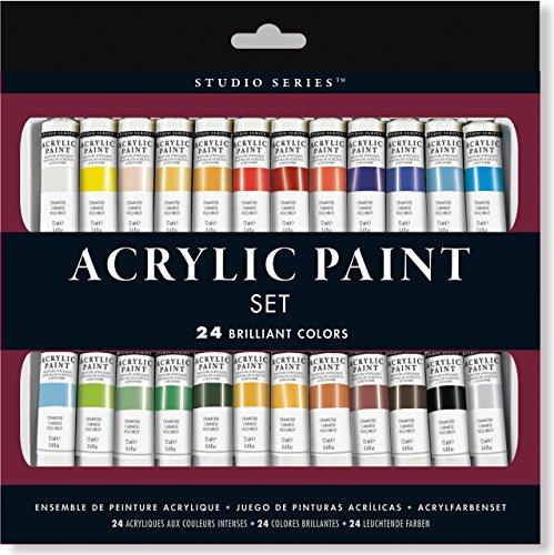 (Studio Series Acrylic Paint Set (24 colors))