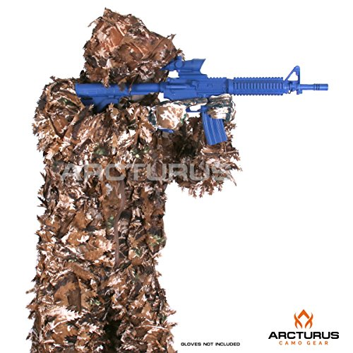 Arcturus 3D Leaf Ghillie Suit (Fall Forest, ML) (Outline Leaf Fall)