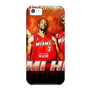 Iphone 5c IeY14041aAwc Provide Private Custom Stylish Miami Heat Pattern Durable Hard Cell-phone Cases -LavernaCooney