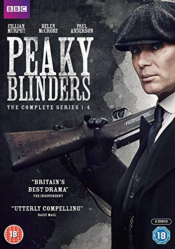 (Peaky Blinders Series 1-4 Boxset [DVD])