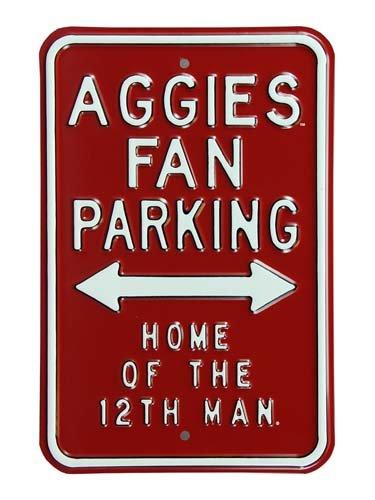 UPC 672090710734, Aggies Parking 12Th Man Parking Sign