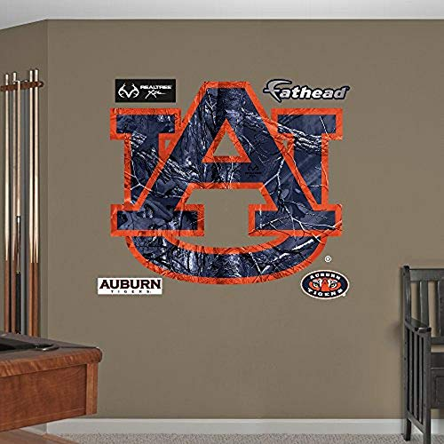 Fathead NCAA Auburn Tigers Auburn Tigers Realtree Logo