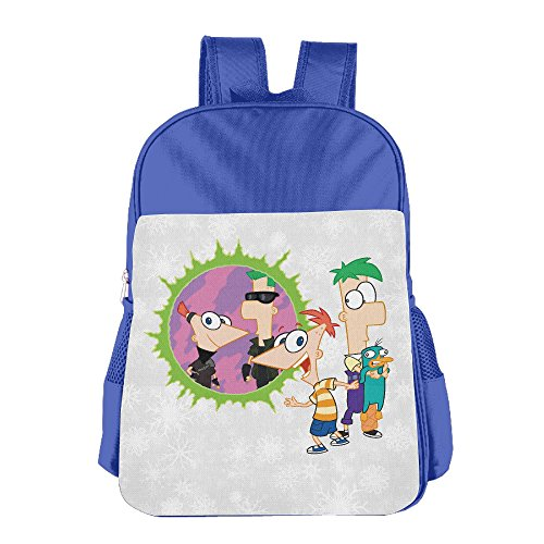 boys-girls-phineas-and-ferb-cartoon-comedy-backpack-school-bag-2-colorpink-blue-royalblue