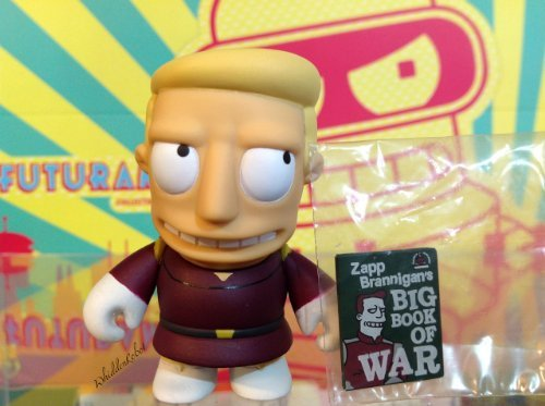 Kidrobot Futurama Series 1 Figure - Zapp Brannigan -