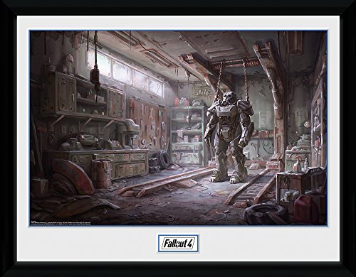 Fallout Framed Poster Red Rocket Interior 30 x 40 cm Posters
