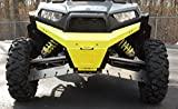 Axiom Side By Side Polaris RZR Front Bumper-Lime Squeeze