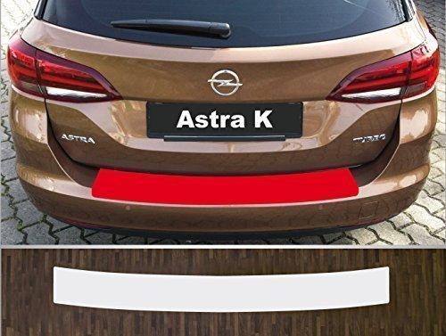 passgenau f/ür Opel Astra K Sports Tourer ab 2016 Lackschutzfolie Ladekantenschutz transparent