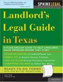 Landlord's Legal Guide in Texas (Legal Survival Guides)
