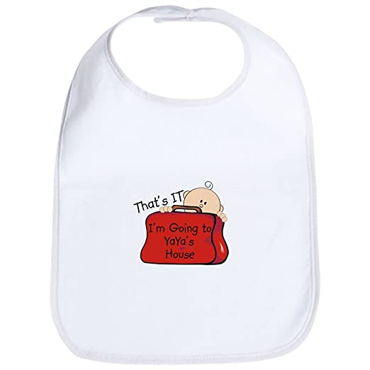 d56d0f2e6ce4c Amazon.com  CafePress - Going To Yaya s Funny Bib - Cute Cloth Baby ...
