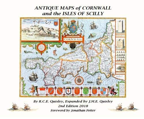 ANTIQUE MAPS OF CORNWALL AND THE ISLES OF SCILLY: Amazon co uk