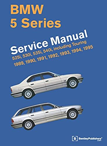bmw 5 series e34 service manual 1989 1990 1991 1992 1993 rh amazon com 1995 BMW 525I Custom 1991 BMW 525I Repair Manual
