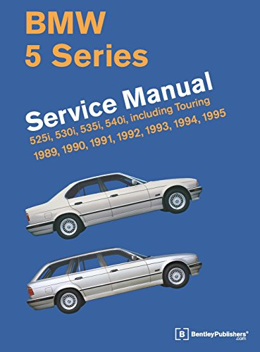 - BMW 5 Series (E34) Service Manual: 1989, 1990, 1991, 1992, 1993, 1994, 1995
