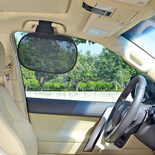 tfy car interior roof handle sunshade sun protection plus glare reduction for driver and passengers. Black Bedroom Furniture Sets. Home Design Ideas