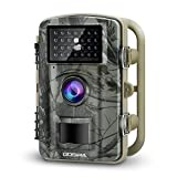 Gosira Trail Game Cameras 12MP HD 1080P Wildlife Hunting 0.4s-0.5s Trigger 940nm Updated Infrared LED Night Vision Deer Cam IP66 Waterproof Motion Activated Wide Senor Angle Garden Home Security