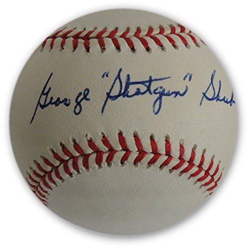 George Shotgun Shuba Hand Signed Autographed MLB Baseball Brooklyn LA Dodgers