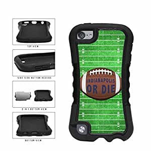 Indianapolis or Die Football Field 2-Piece Dual Layer Phone Case Back Cover Diy For Iphone 6 Case Cover Generation