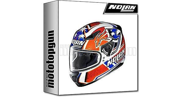 STONER 026 XS NOLAN CASCO MOTO INTEGRAL N60-5 GEMINI REPLICA C