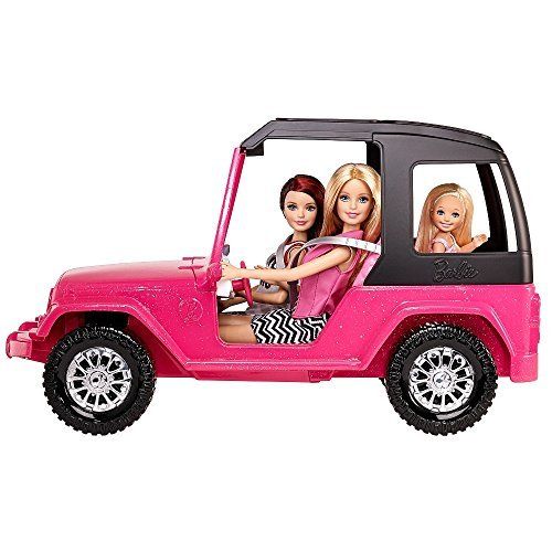Barbie Car (Barbie Pink Passport Sisters Cruiser)