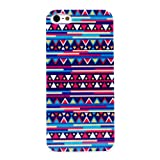 Early Shop Triangle Rhombus Geometric Murals Hard Back Case for iPhone 5 Colored