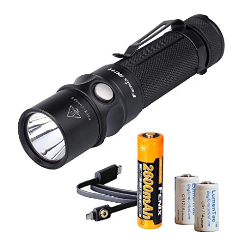 Rechargeable Flashlight Battery Charging LumenTac