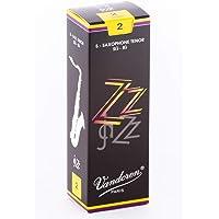 Vandoren SR422 - Caja de 5 cañas para saxofón tenor
