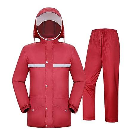 AtR Impermeable Poncho Windbreaker Rain Pants Set ...