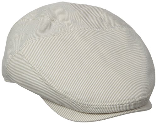 Henschel Men's New Shape Pinstripe Ivy Hat, Brown/Beige, X-Large