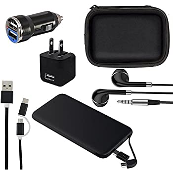 Amazon.com: Mobile Phone Accessories 6 in 1 Travel Kit