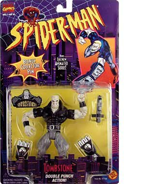Spider-Man: The Animated Series > Tombstone Action Figure