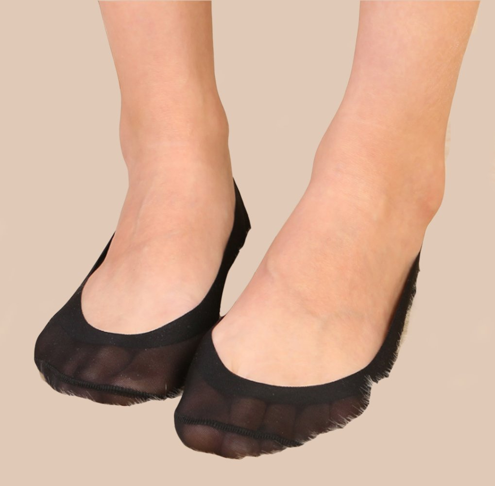 Gauss Kevin Thin Ice Silk No Show Low Cut Liner Socks Women Elastic Nylon Summer Sock Non Slip by Gauss Kevin (Image #8)