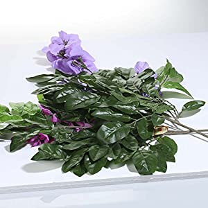 Factory Direct Craft Group of 6 Assorted Color Artificial Sweet Pea Floral Sprays for Arranging, Crafting and Creating 104