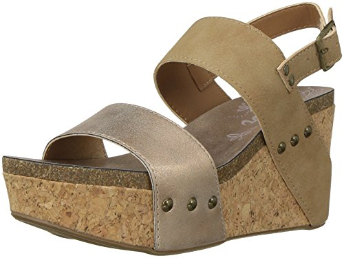 Nubuck Natural Wedge Women's SGR Sandal Sugar Jeffrey Dark x08w4aU