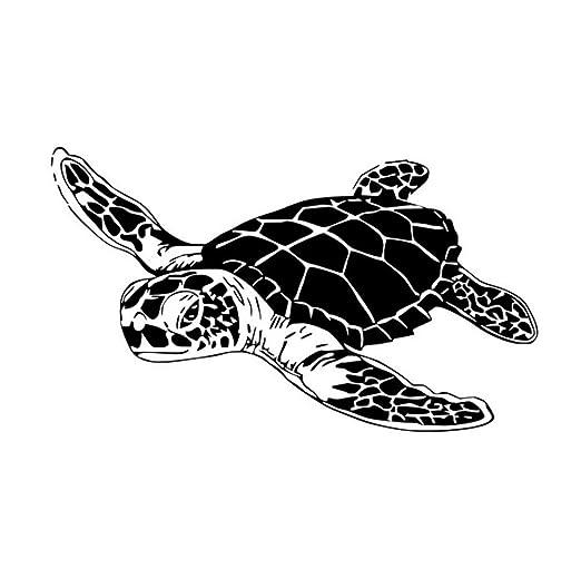 Tortuga pegatinas de pared océano animal extraíble vinilo tatuajes ...